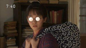 吉岡里帆 あさが来た 田村宜 眼鏡