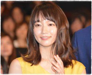 吉岡里帆 髪型 ミディアム パーマ