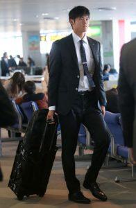 大谷翔平 私服 スーツ