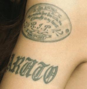 安室奈美恵 タトゥー 左腕