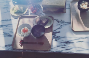 梨花 インスタグラム 炎上 朝食