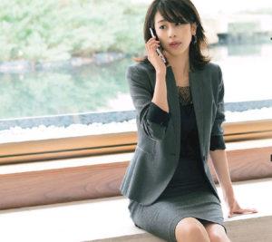 加藤綾子 画像 OL風