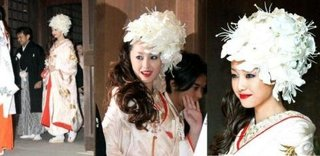 沢尻エリカ 結婚式 髪型