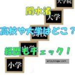 関水渚の大学や高校はどこ?卒アルはある?経歴もチェック!